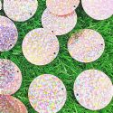 Sequins, pink, 29mm, 22 pieces, 5g, Round shape, Sequins are shiny, [CZP681]